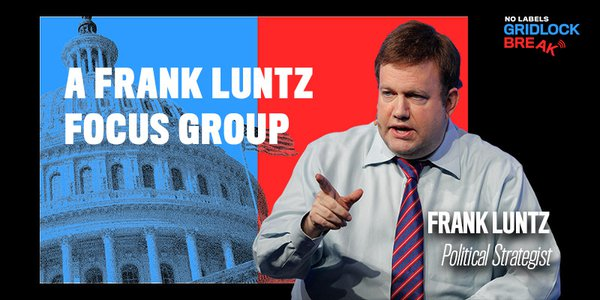 Frank Luntz is an American political and communications consultant, pollster, and pundit. His focus groups on cable TV have always given a voice to individuals drowned out by loud opinions and polls.