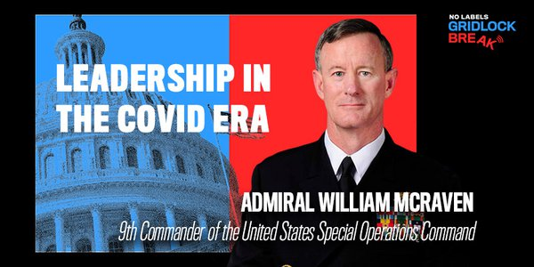 Admiral William McRaven is a retired United States Navy SEAL and four-star admiral who last served as the ninth commander of the United States Special Operations Command.