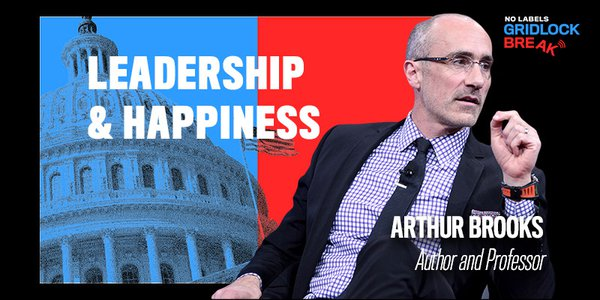 Arthur Brooks is a professor at Harvard Kennedy School and Harvard Business School. He served as president of the American Enterprise Institute (AEI), a conservative think tank, for ten years before that.