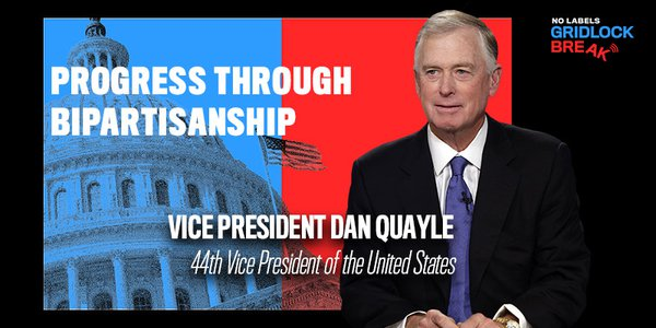 Vice President Dan Quayle ran as George H.W. Bush's Vice Presidential running mate in 1988, and served in that role until 1993.