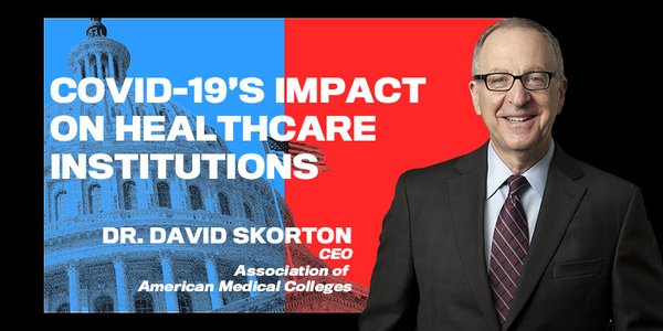 Dr. David J. Skorton is president and CEO of the AAMC (Association of American Medical Colleges), a not-for-profit institution that represents the nation's medical schools, teaching hospitals, and academic societies.