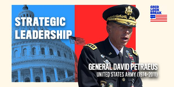 David Petraeus served in the United States Army from 1974 to 2011. In that time, he was commander of U.S. Central Command and led combat operations in Iraq and Afghanistan.