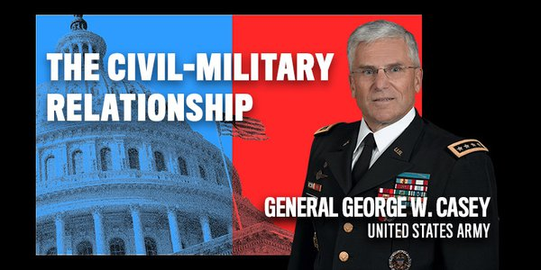 George Casey retired as a four star general after having served as Chief of Staff of the United States Army and Commanding General of the Multi-National Force in Iraq.