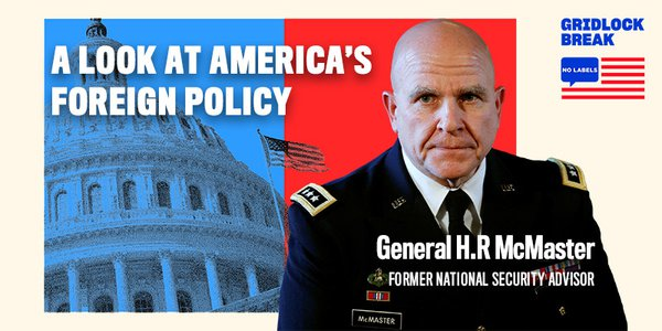 General H.R. McMaster served as a commissioned officer in the United States Army for thirty-four years before retiring as a Lieutenant General in June 2018.