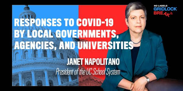 Janet Napolitano served as governor of Arizona from 2003 to 2009, and then as Secretary of Homeland Security from 2009 to 2013 in the Obama Administration.