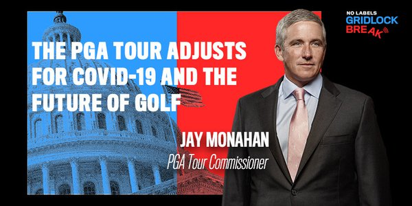 Jay Monahan became the fourth commissioner of the PGA Tour in January of 2017 and has worked for the Tour since 2008.