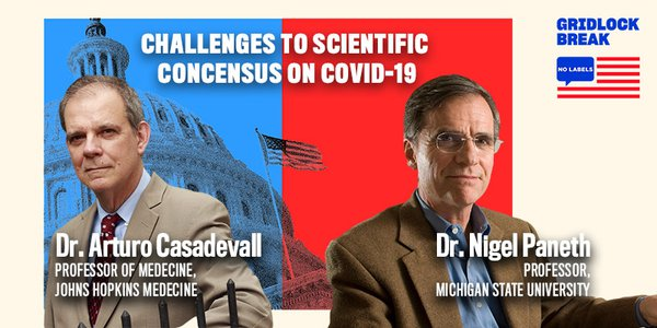 Dr. Casadevall is the chair of the Molecular Microbiology & Immunology department at Johns Hopkins University. And Dr. Paneth is a Professor of Epidemiology, Biostatistics, and Pediatrics at Michigan State University.