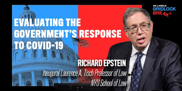 Professor Richard Epstein is the Inaugural Laurence A. Tisch Professor of Law at NYU School of Law.