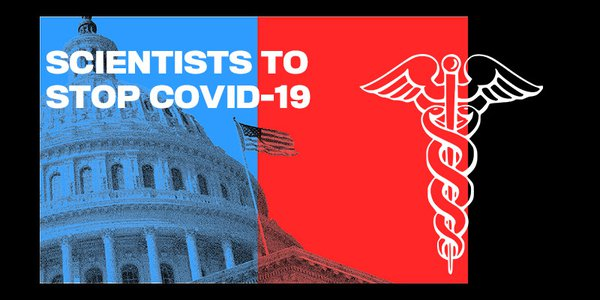 Doctors David Liu, Michael Rosbash,Stuart Schreiber, Ramnik Xavier and Edward Skolnick  come from different disciplines and research areas, but have united behind this effort to help policymakers develop a comprehensive and science based approach to stop this virus.