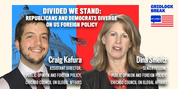 Dina Smeltz and Craig Kafura are both experts on public opinion and foreign policy with the Chicago Council on Global Affairs.