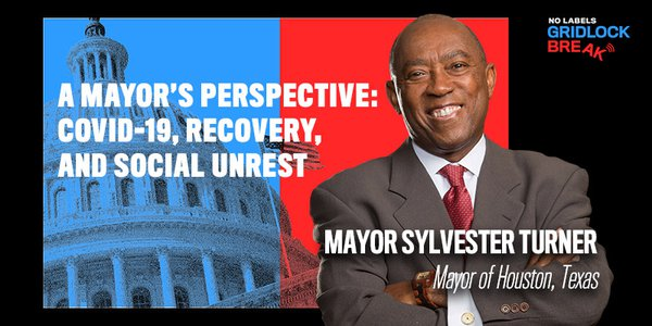 Sylvester Turner is serving in his second term as mayor of Houston, after first being elected in 2015.