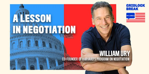 William Ury is a co-founder of Harvard's Program on Negotiation and one of the world's leading experts on mediation.